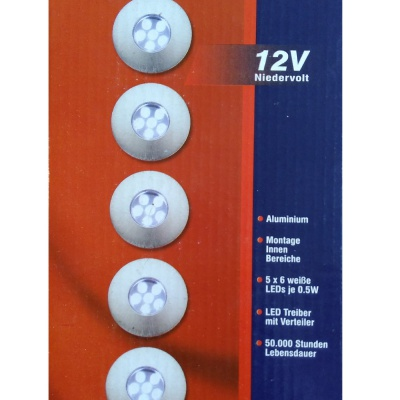 Ausverkauf – LED Einbauset...