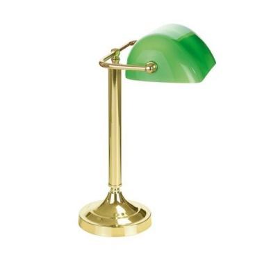 Tischlampe - Banker, 1x60W...