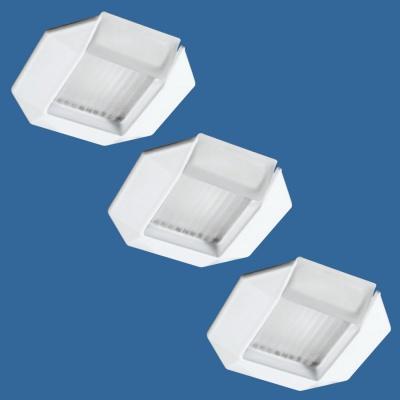 ALU, Einbauleuchten 3x35W Weiß