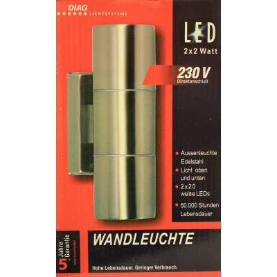 Outdoor LED-Licht 2x20LED /...
