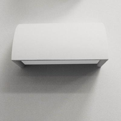 Wandleuchte 1x55W Weiß Gips