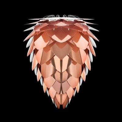 Conia copper Ø 40 x 50 cm